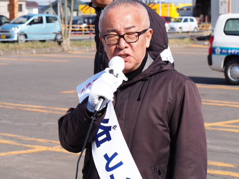 渋谷としあき最後の街頭演説を行います!