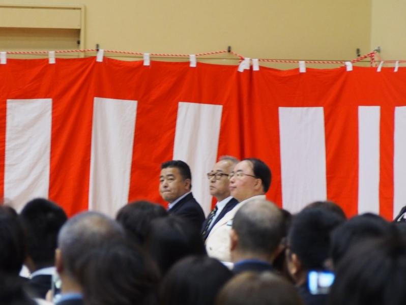 渋谷としあきの活動 ~恵庭南高校入学式に出席いたしました~